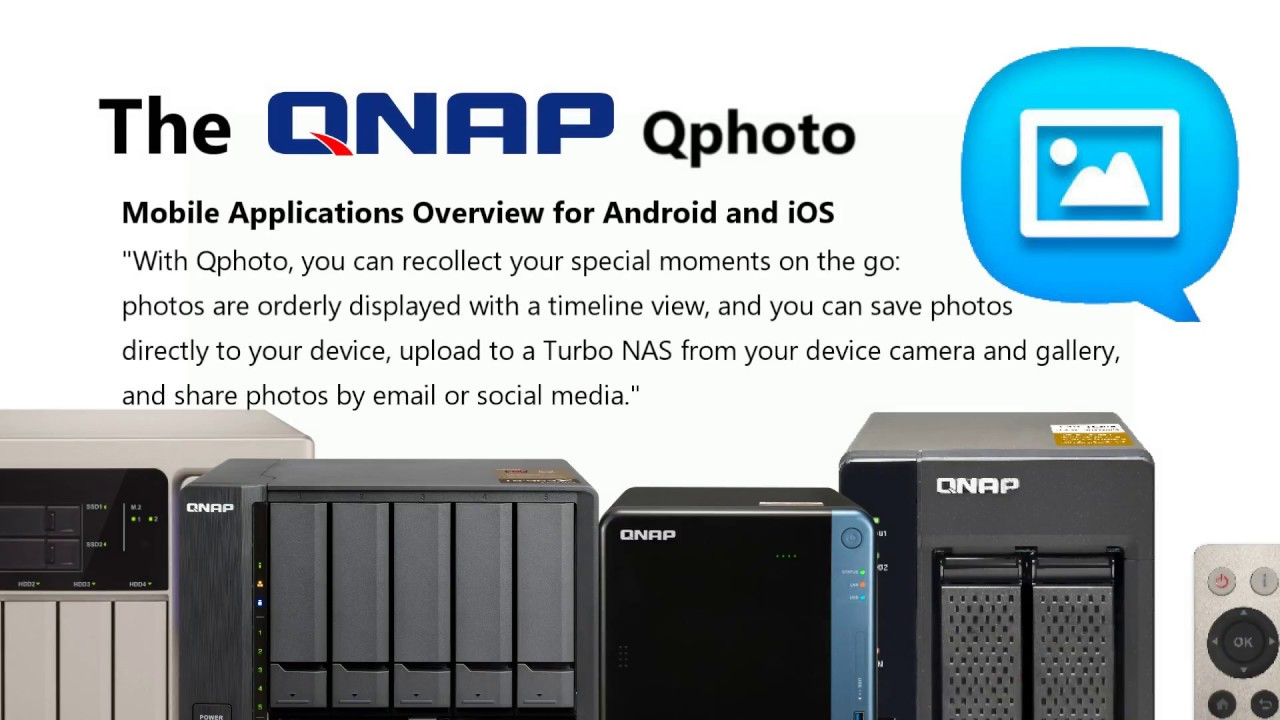 QNAP Qphoto App for Android and iOS