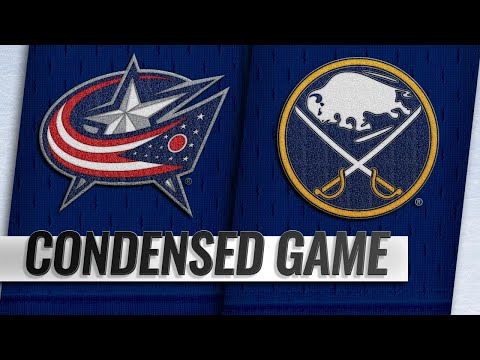 09/25/18 Condensed Game: Blue Jackets @ Sabres
