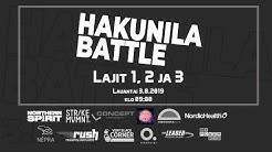 Hakunila Battle 2019 Lajit 1-3