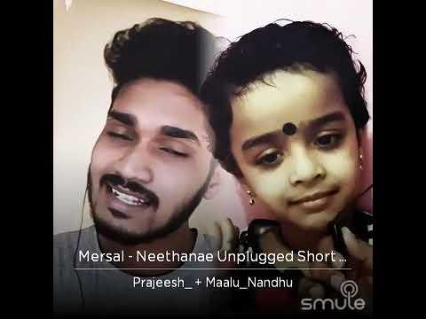 Neethane..neethane..mersal Song By Nandhooty