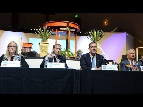 Pt 1 - The Almond Shift. Balto Co County Executive debate at Morning Star Baptist Church 4/14/18