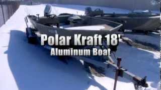 Polar Kraft 18ft Aluminium Jon Boat On Govliquidation.com