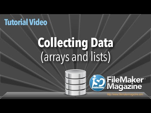 Collecting Data within FileMaker Pro