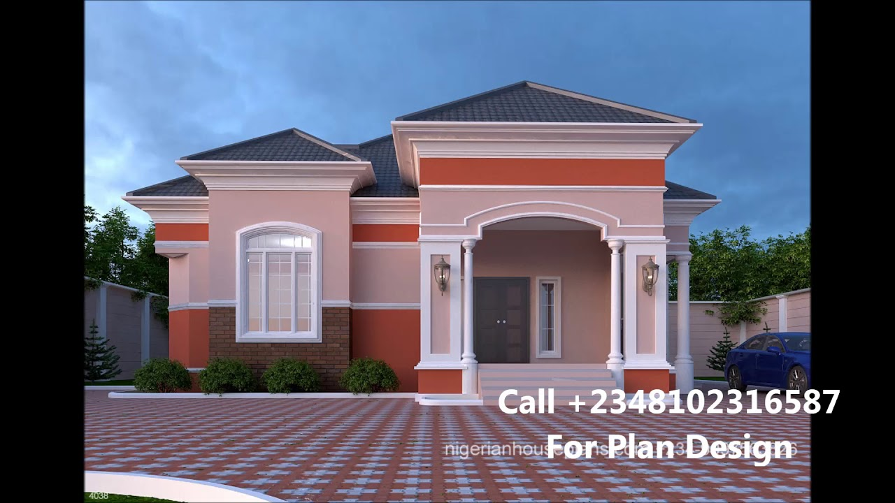 Nigeria Houses Design 3 Bedroom House Plans In Nigeria Youtube