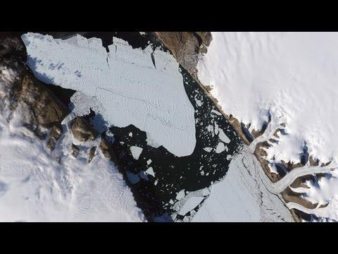 Giant 46-Square-Mile Greenland Iceberg Breaks off Petermann Glacier