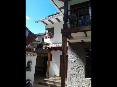 Spanish colonial Cuenca Ecuador home for sale overlooking Tomebamba River