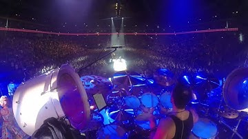 Marko Duvnjak DRUM CAM   Live @ Berlin / Mercedes Benz Arena 07/11/2015 Highlights