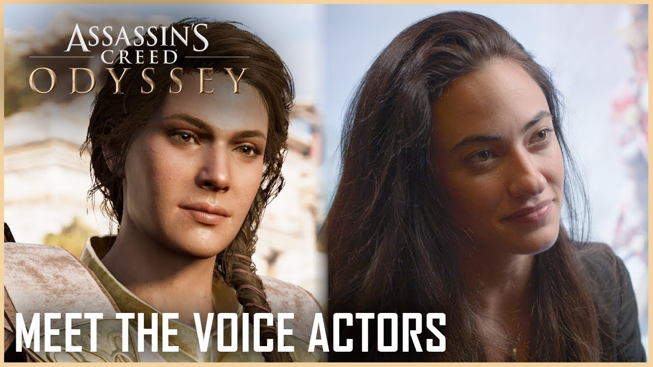 Assassin S Creed Odyssey S Kassandra Talks Fighting