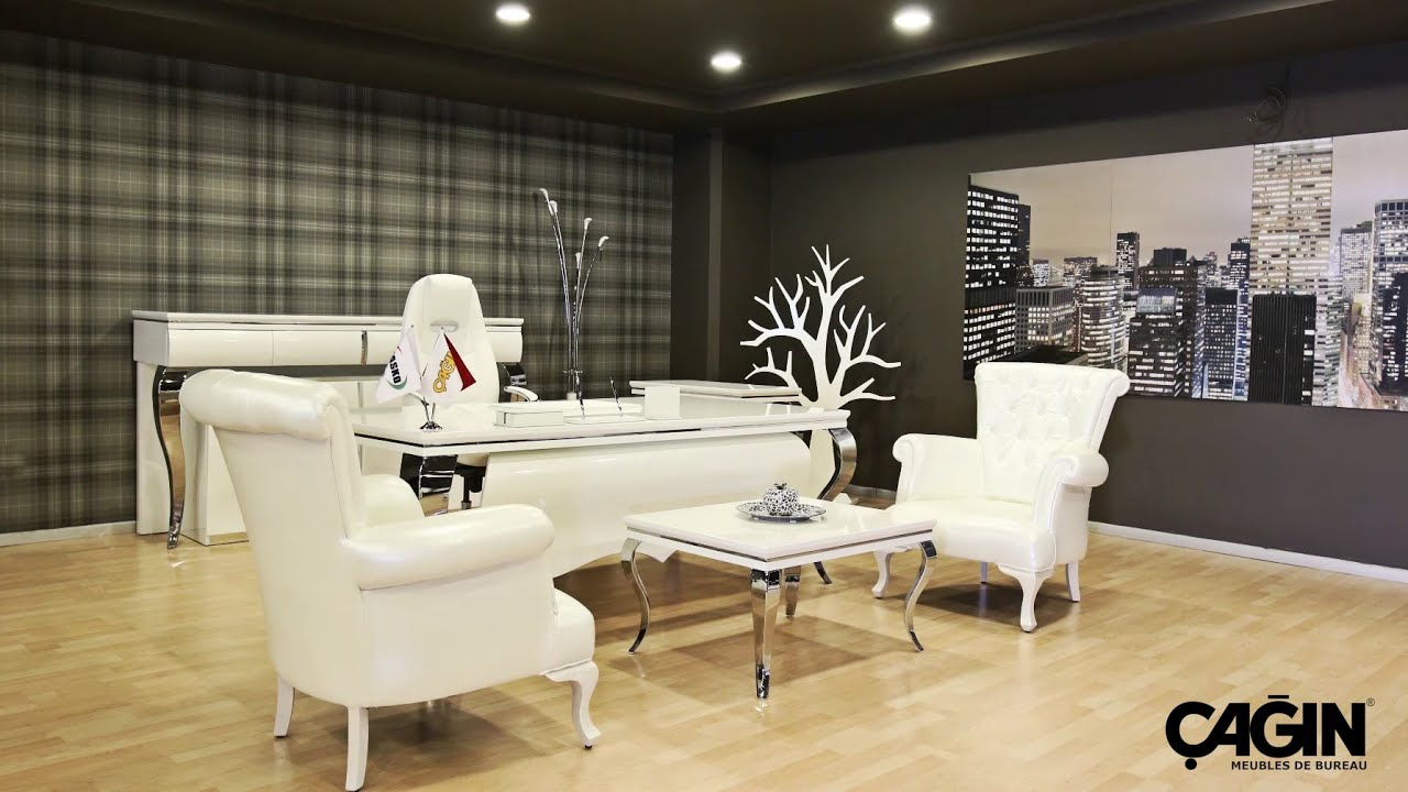 Mobilier de bureau de la turquie a in ofis youtube for Bureau de salon