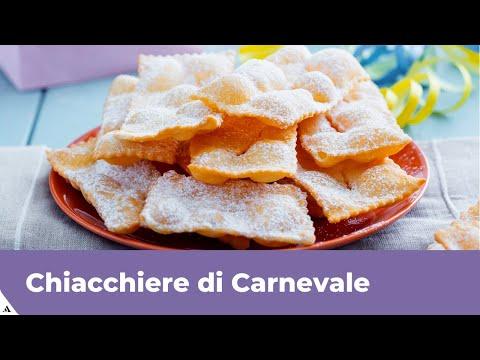 CHIACCHIERE di Carnevale (Frappe, bugie, crostoli): RICETTA FACILE