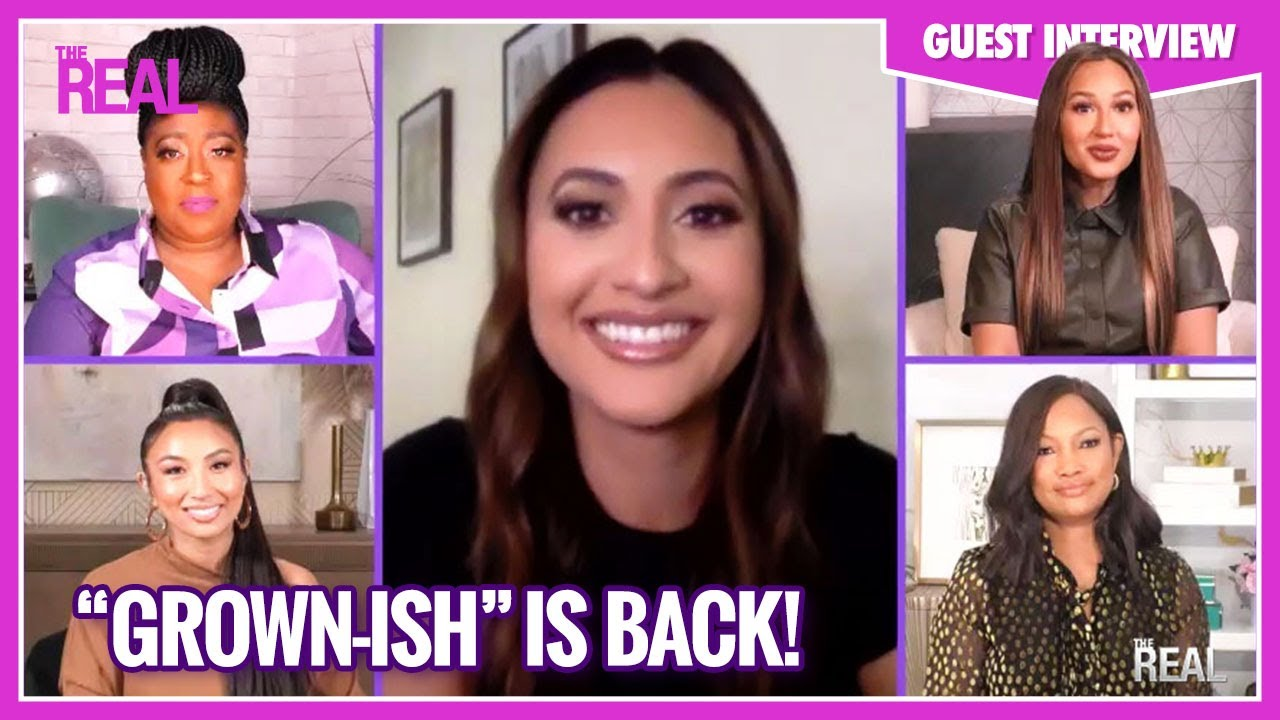 Francia Raisa Dishes on Playing a Character Who�s 10 Years Younger on �grown-ish�