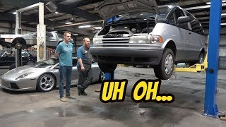 Here's Everything that's Broken on My Mid-Engine Supercharged Toyota Previa