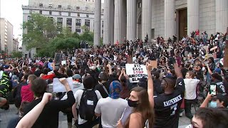 NYC protests haven't caused spike in COVID-19 cases, data shows