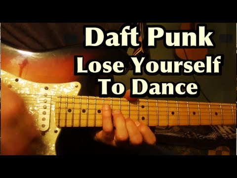 Daft Punk - Lose Yourself To Dance - Guitar Chords - Cover - Lesson - Tutorial