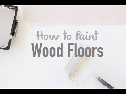 Tutorial: How to Paint Wood Floors