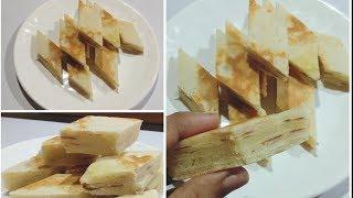 Egg Breakfast Recipe | Quick & Easy Breakfast Layered Egg Maida Pancake |