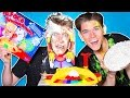 PIE FACE BATTLE CHALLENGE!!! (Extreme Family Edition)