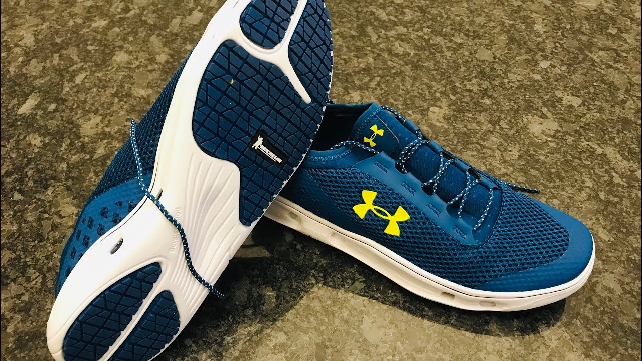 7efff5f5fd7a Under Armour Kilchis Water Shoe Review - YouTube