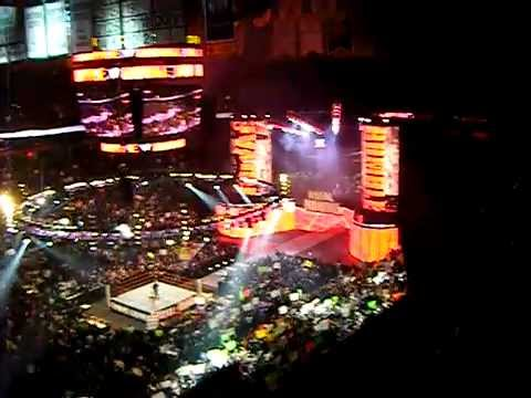 "WWE Royal Rumble 2011 - Live Opening Introduction With Fireworks Display! ""TD Garden: Boston, MA"""