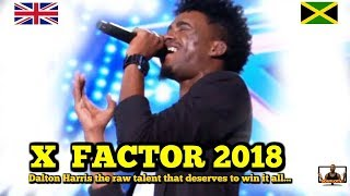 Dalton Harris Jamaican to win X Factor UK