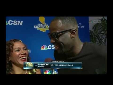 Thumbnail: We Won, YUP - Draymond Green Interview