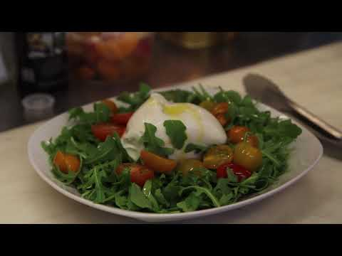 How we make our Burrata Salad