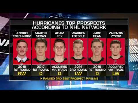 Prospect Pipeline:  Hurricanes  come in at No. 3 in Prospect Pipeline  Sep 7,  2018