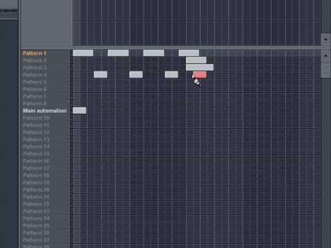 FL Studio Tutorial Series: Lesson 9 - Pattern Mode vs. Song Mode ...