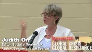 British socialist Judith Orr at Marxism 2012 - May 25 at Ryerson University in  Toronto, Canada