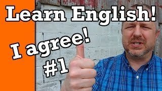 Part 1: Learn How to Agree in English | Video with Subtitles