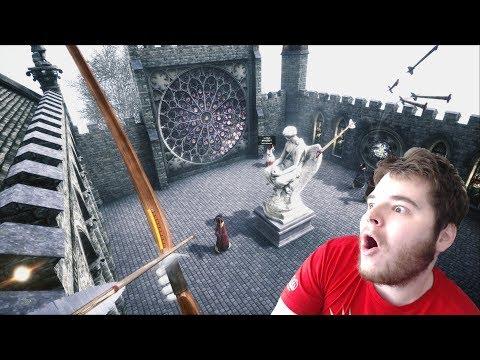 Rogue-Like Virtual Reality Archery with Perma-Death!
