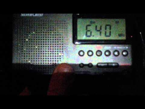 6400 khz - Pyongyang BS - Kanggye (North Korea)