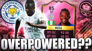 FUTTIES MUSA 85 THE MOST OVERPOWERED FUTTIES CARD FIFA 17 ULTIMATE TEAM