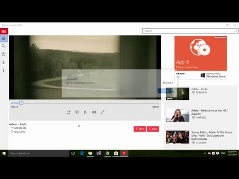 Download Mp3/Mp4 from Youtube on windows phone
