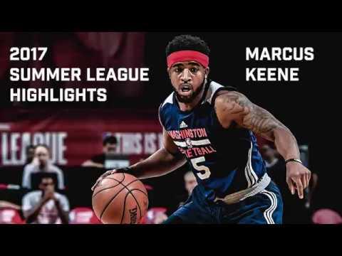 Marcus Keene Full 2017 NBA Summer League Highlights