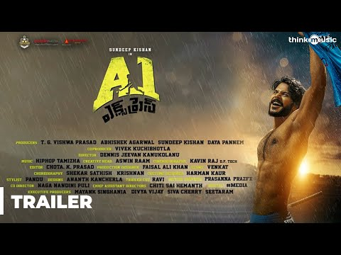 A1 Express Movie Trailer | Sundeep Kishan, Lavanya Tripathi | Hiphop Tamizha