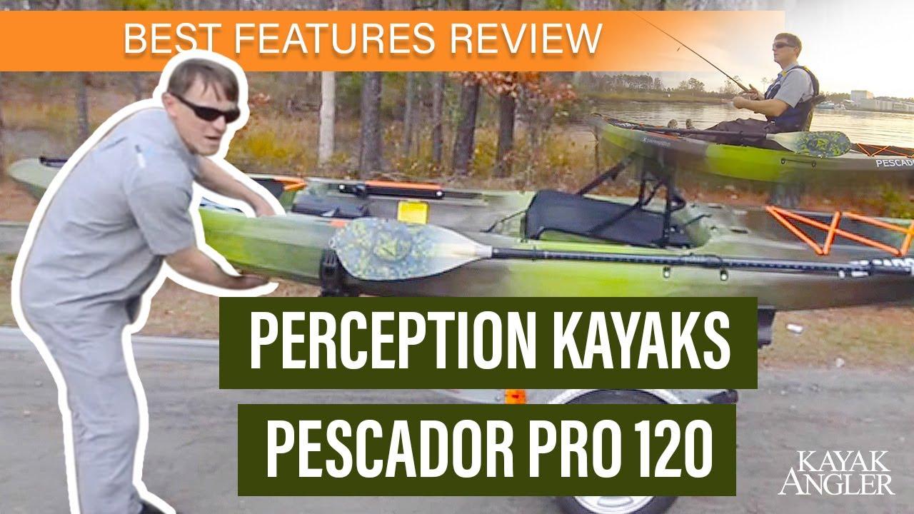 Perception Kayak S Pescador Pro 120 Kayak Review Youtube
