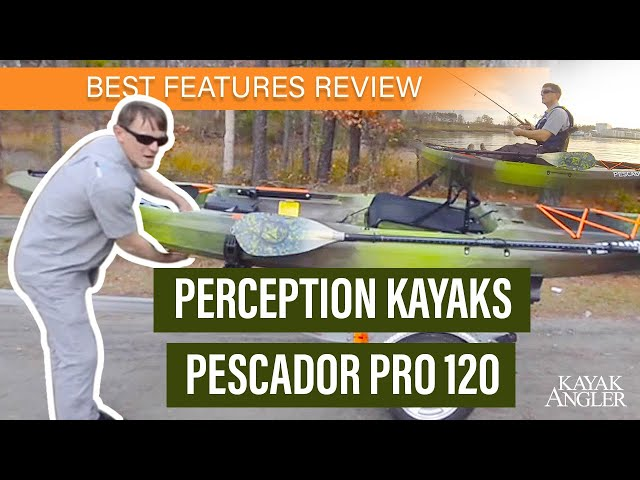 Perception Kayaks' Pescador Pro 120 🎣 Fishing Kayak 📈 Specs & Features Review and Walk-Around 🏆