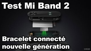 Test du bracelet connecté Mi Band 2