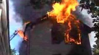 CLIFTON NJ FIRE DEPARTMENT PARKVIEW TERR RAGING HOUSE FIRE