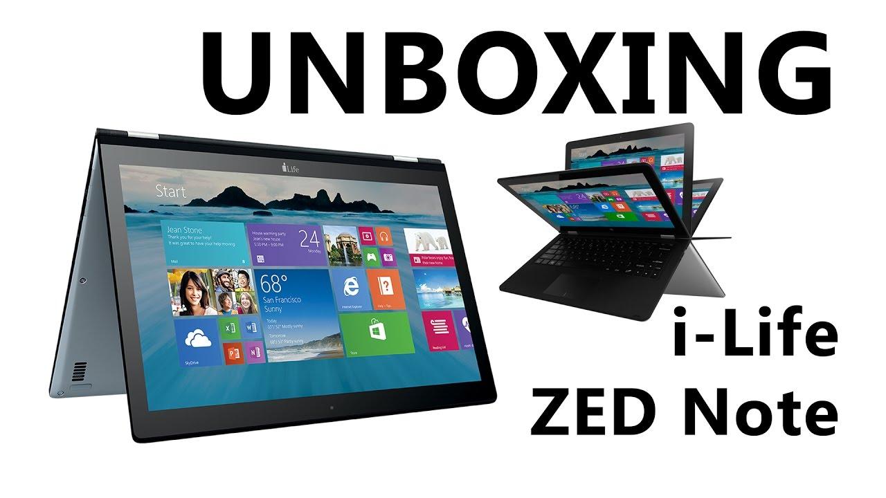I Life Zed Note Laptop Unboxing Youtube