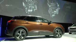 Best Cars:  Peugeot 3008 (2017) WORLD PREMIERE