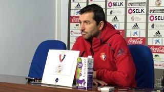 Diego Martínez. Previa Osasuna-Nástic