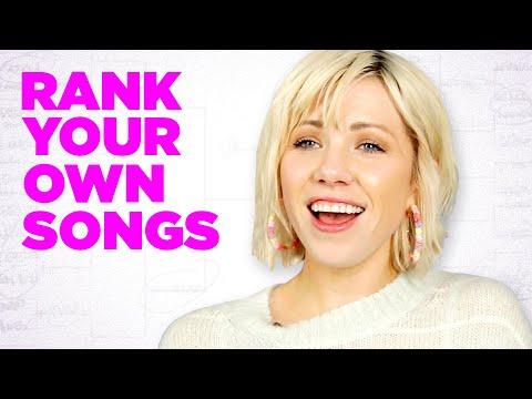 Carly Rae Jepsen Ranks Her Own Songs