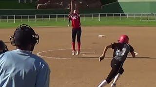 Jessica Ross 2018 Pitcher - Fielding Video