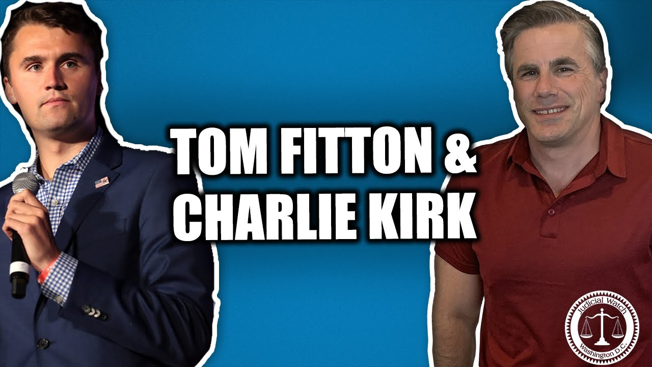 Tom Fitton on The Charlie Kirk Show: Hillary Clinton Exposed, #Obamagate, Voter Fraud, and MORE...
