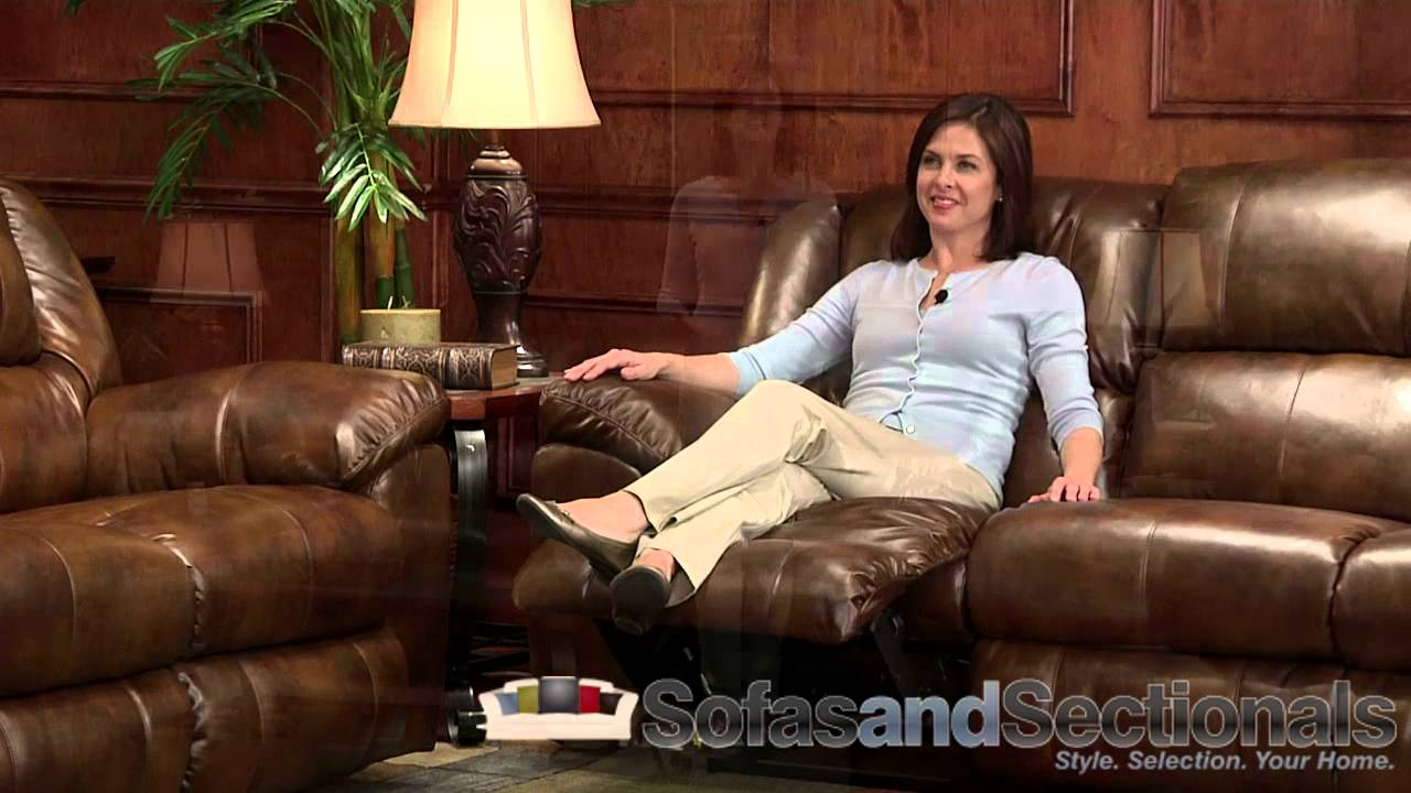 Catnapper Transformer Bonded Leather Sofa Group Youtube