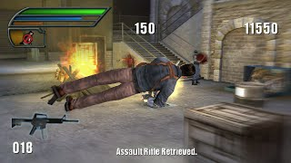 Dead to Rights: Reckoning PSP Playthrough - Parkour With Guns