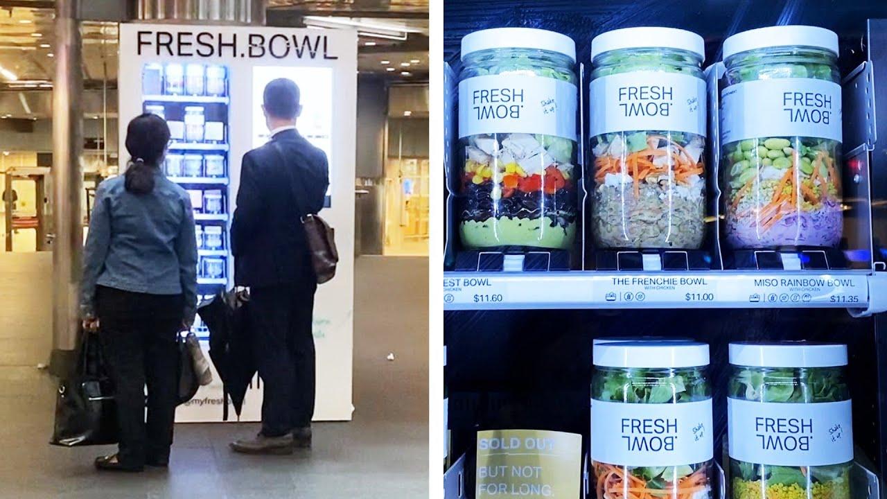 Vending Machine Produk Sehat