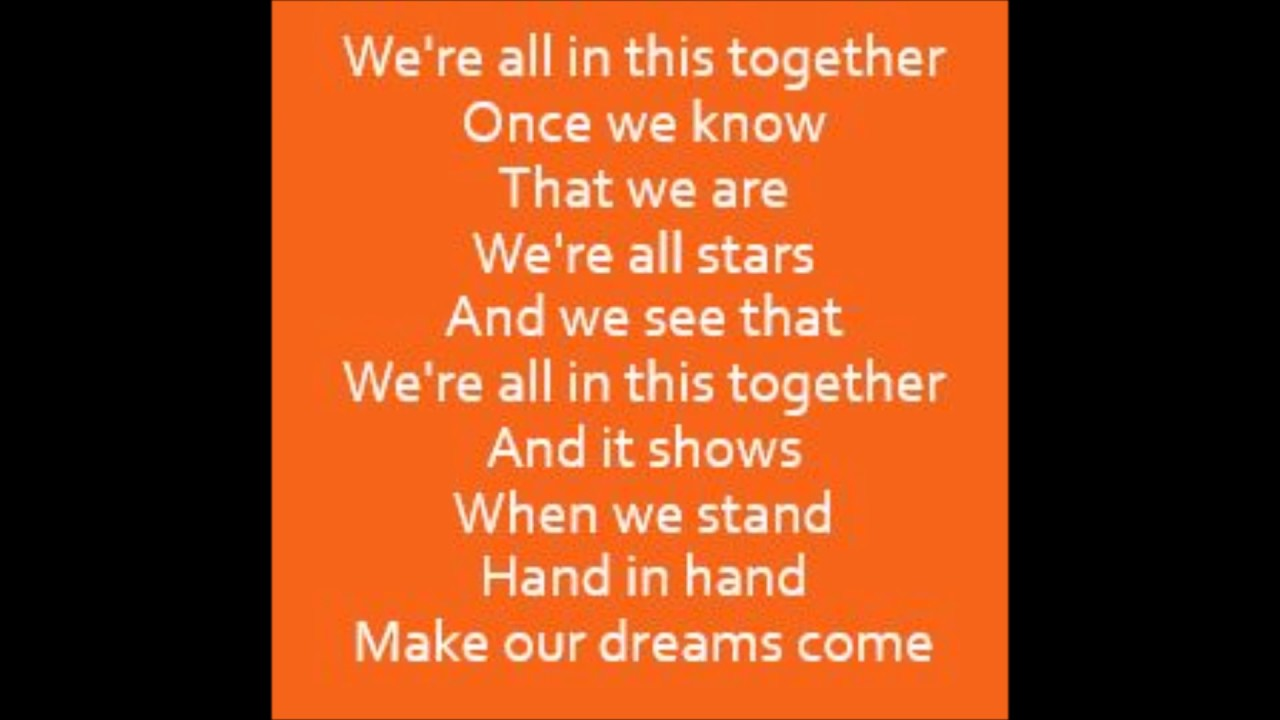 HIGH SCHOOL MUSICAL 3 - I WANT IT ALL LYRICS